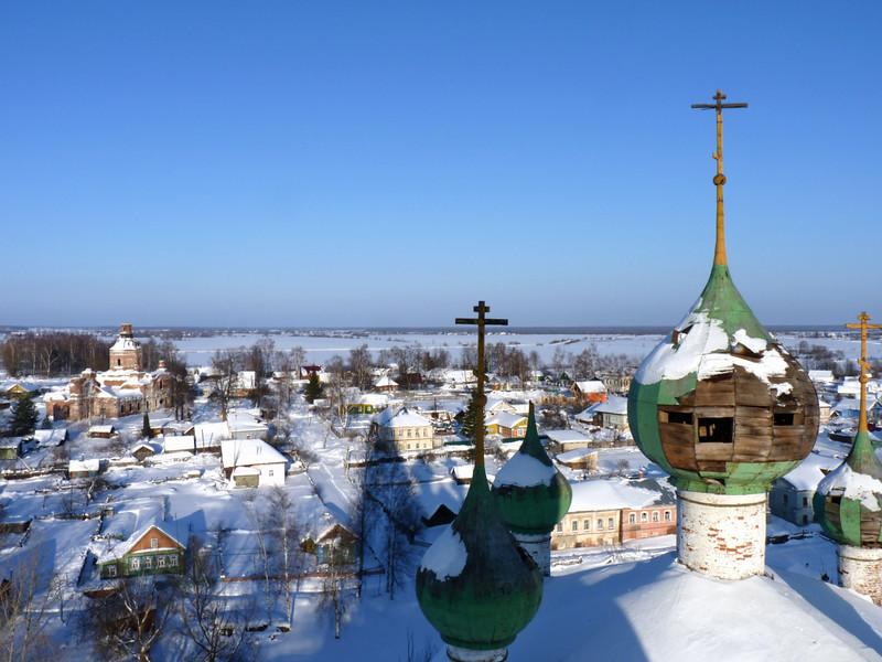 Vyatskoe village. Русь.