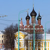Yaroslavl's Cathedral of the Epiphany. Собор Богоявления, Ярославль.