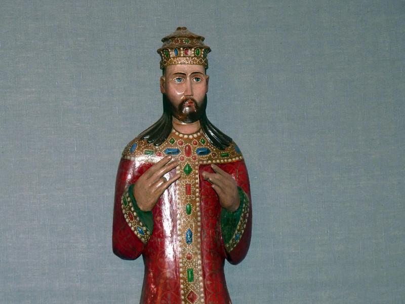 Wooden Jesus.