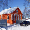 Vyatskoe village home.