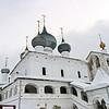 The 17th century Resurrection Monastery in Uglich.