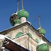 Vyatskoe Village church under restoration.  Церковь в селе Вятское никогда не закрывалась. В августе 2011 будет отреставрирована.
