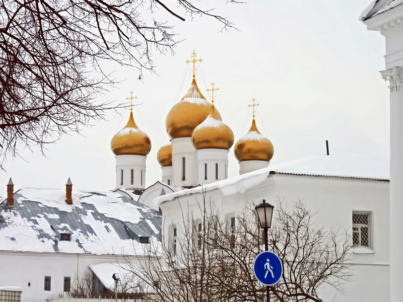 Yaroslavl's new Assumption Cathedral.