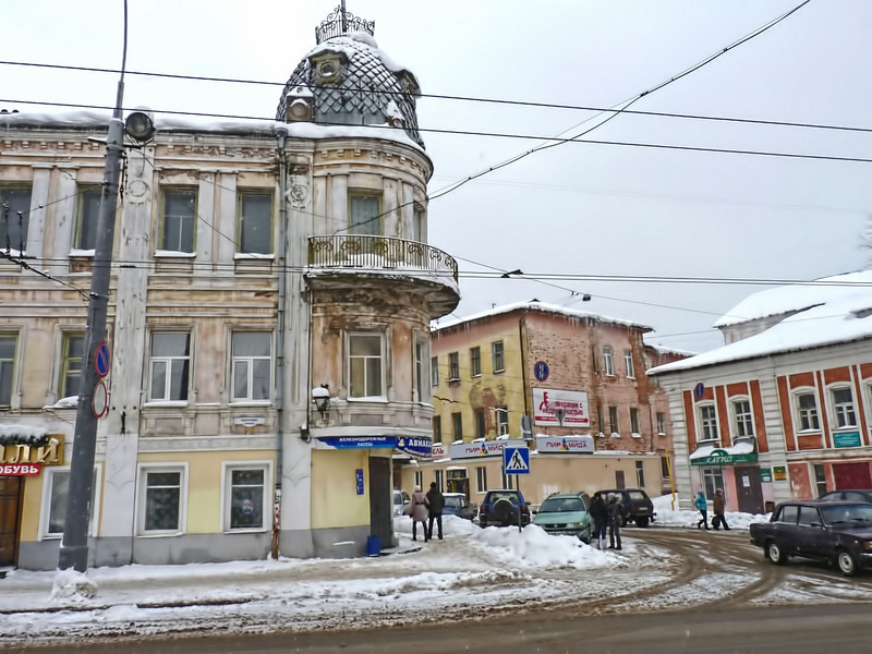 Downtown Rybinsk. Центр Рыбинска
