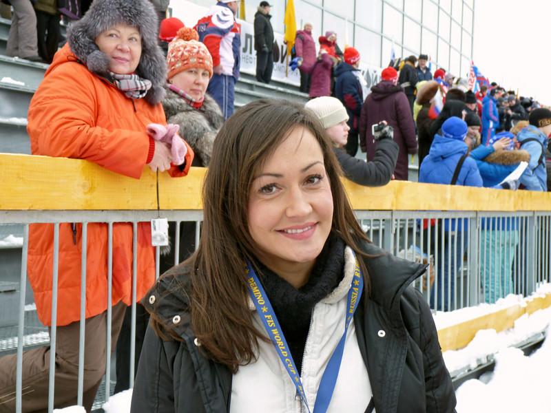 Lindsay at Demino's World Cup.