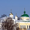 Yaroslavl cupolas. Купола Ярославля.
