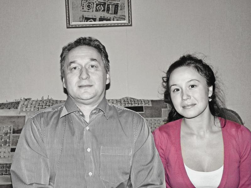 Our dear friend, Andrey Valitov & his daughter, Sonia.
