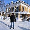 Enjoying a sunny day in Vyatskoe.