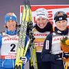 Olympic champion, Justina Kovalchik from Poland wins the 10K. Юстина Ковальчик, олимпийская чемпионка, победительница этапа Кубка мира в Дёмино (2011).