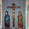 Ancient wood religious sculptures.