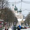 Kirov Street in Yaroslavl. Улица Кирова в Ярославле.