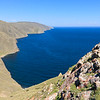 West shore of Lake Baikal direction northeast