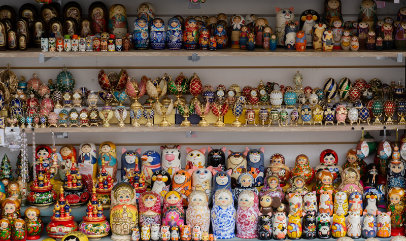 Souvenirs, St. Petersburg, Russia