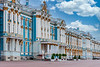 Exterior of Catherine's Palace in St. Petersburg, Russia.