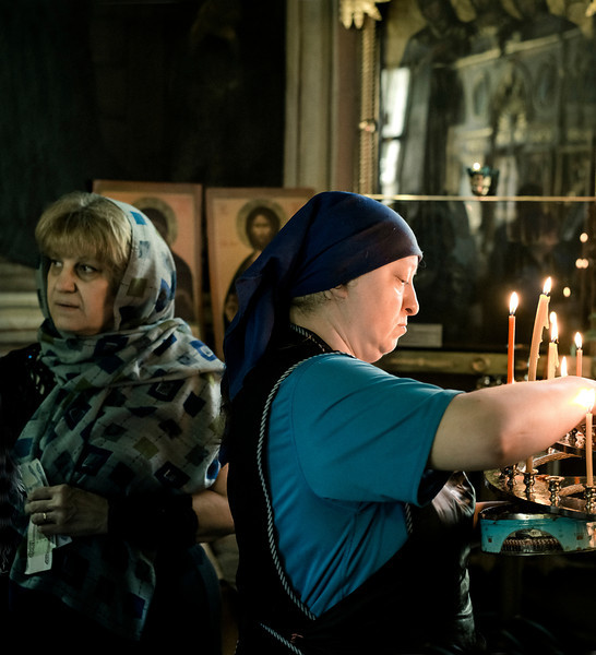 Nun, I, Orthodox Church, Moscow, Russia