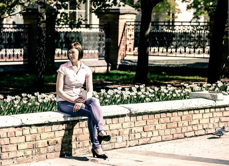 Waiting, Tretyakov Museum, Moscow, Russia