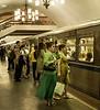 Doors not Open Yet, Subway, Moscow, Russia