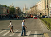 Crosswalk, Downtown, Moscow, Russia