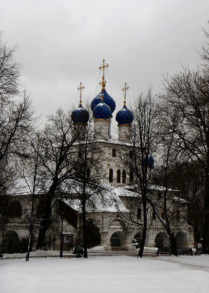 Church of Our Lady of Kazan (1660), Kolomenskoye, Moscow.<br /> <br /> Built around 1660 to commemorate the centenary of the capture of Kazan by Ivan the Terrible