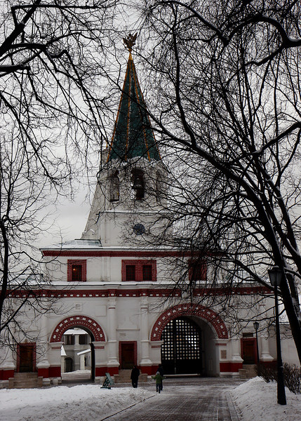 Red Gate (1672-1673), Kolomenskoye, Moscow.<br /> <br /> The Red Gate was the main entrance to the Royal Palaces.