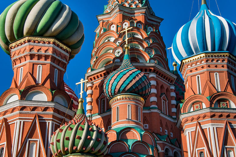 russia, moscow, red square, architecture, church, saint basil's cathedral