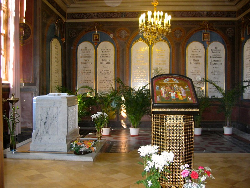 Resting place of the Romanov's<br /> Russia, 2006