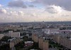 Moscow panorama from the Ukraina (now Radisson Royal) Hotel, 24 September 2004 8.  Another view south towards the Moscow River and Kievskaya railway station.