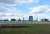 Ulyanovsk/ Simbirsk 1648 sign, Ulyanovsk, Russia, 1 September 2015.  What is now Ulyanovsk was founded as Simbirsk in 1648.  It is the birthplace of V I Ulyanov, better known as V I Lenin, and was renamed after his death in 1924.  Despite the collapse of the Soviet state Lenin founded, the city has kept its revolutionary name.  Photographed from inside a bus hence the reflections.