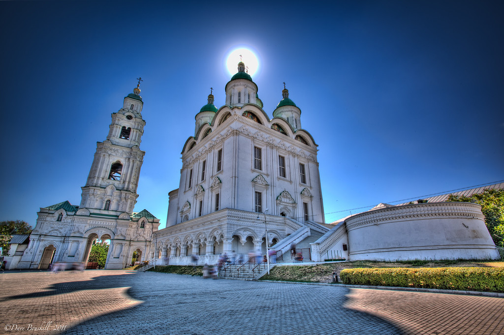 Ascension Cathedral Astrakhan Russia