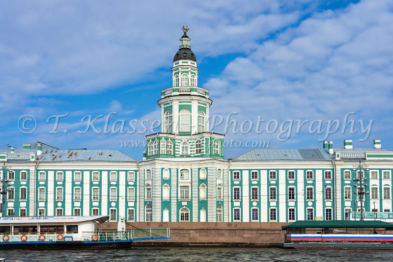 The Kunstkammer Museum of St. Petersburg, Russia.