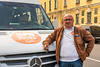 Our tour van driver Valero in St. Petersburg, Russia.
