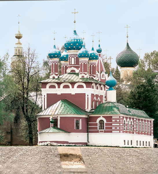 XXX Church, Riverbank, Uglish, Russia