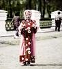 Ethnic Dress, City Park, Uglish, Russia