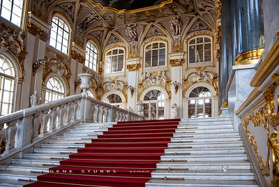 Stairs in the Hermitage Museum