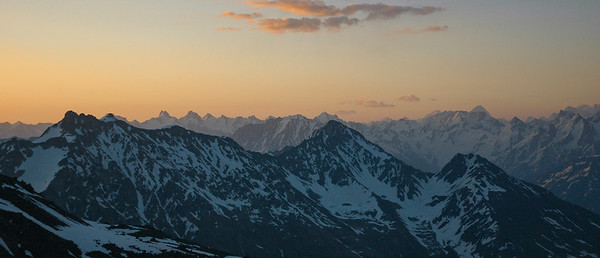 Sunrise on he Caucasus, 2006