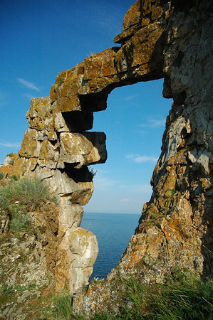 Stone structures near Lake Baikal, 2006