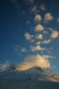 Mt. Elbrus in the morning light, 2006