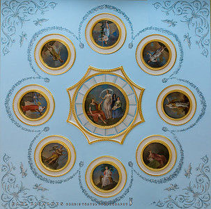Ceiling in Catherine the Great's Palace