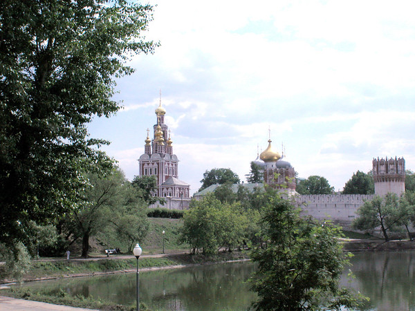 Church near Moscow
