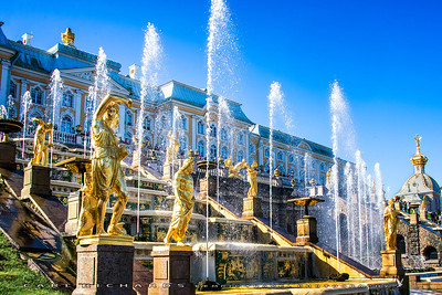 Peter the Great's Palace Fountains
