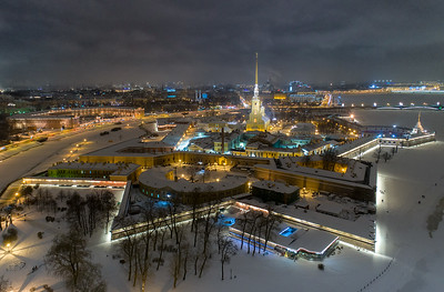 Peter and Paul Fortress (1740)