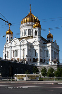 The Cathredal of Christ the Savior, Moscow