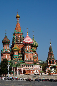 Saint Basil's Cathedral, from the backside