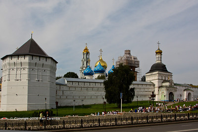 The Trinity Lavra of St. Sergius, Sergiyev, Moscow District