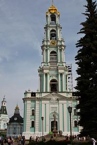 Bell tower. Troitse-Sergiyeva Lavra. Sergiev Posad, Russia.