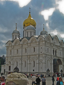 Cathedraal of the Archange , Russian Kremlin, Moscow