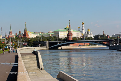 Moskva River and the Russian Kremlin, Moscow