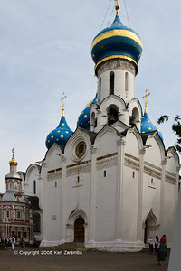 Church of Holy Spirit. Troitse-Sergiyeva Lavra. Sergiev Posad, Russia