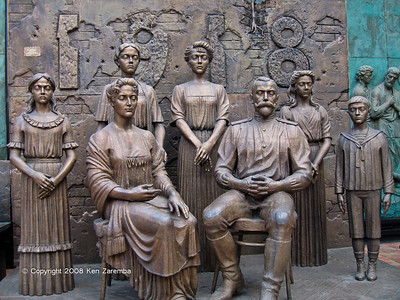 Zurab Tsereteli's Art Gallery Monument to Tsar Nicholas II and family