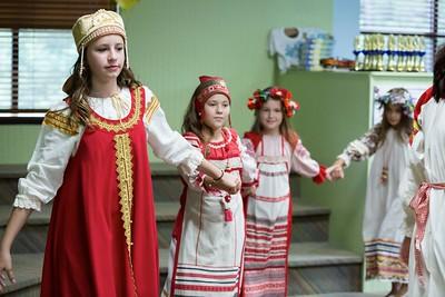 Russian school #1 concert